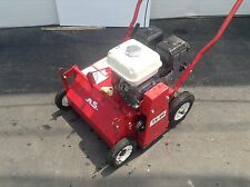 Classen Turf Overseeder Honda Engine Walk Behind Grass Lawn Seeder