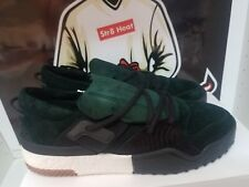 adidas x Alex Wang AW BBall Suede Low Top Sneaker Green Night DA9309 size 11.5