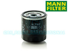 Mann Hummel OE Quality Replacement Engine Oil Filter W 714/2