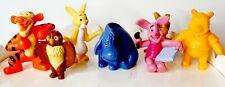 Disney Winnie The pooh Figurine Lot Tigger Piglet Rabbit Owl Kanga Roo Lot of 7