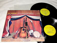 """""""Top Country!"""" 1970's Country, 2-LP's, VG+, Various Artists, on Hilltop"""