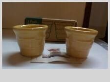 Longaberger Butternut Votive Candle Cups* Set Of 2 - -7