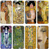 Gustav Klimt Art The Kiss Canvas Hard Case Cover For iPhone Samsung Huawie New