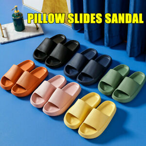 2021 PILLOW SLIDES Sandals Ultra-Soft Slippers Extra Soft Cloud Shoes Anti-Slip