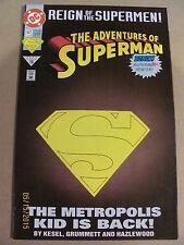 Adventures of Superman #501 DC Comics Deluxe Cover Superboy