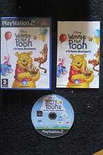 PS2 : WINNIE THE POOH E LE PANCE BRONTOLANTI - Completo, ITA ! Da Disney !