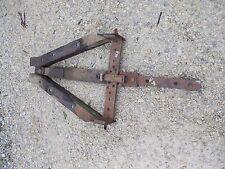 1946 John Deere A Tractor JD draw bar drawbar assembly hitch tongue bracket &rol