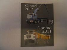 CONRAD   NOUVEAUTES 2011 + 2012  CATALOGUES PETITS FORMATS