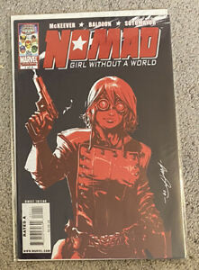 NOMAD: GIRL WITHOUT A WORLD #1 (2009) 1ST Rikki Barnes Low Print Run HTF Rare