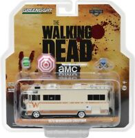 The Walking Dead 1973 Winnebago Chieftain with Umbrella and Camping Chairs