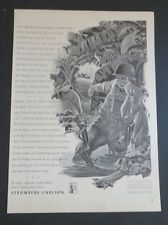 Original 1942 Print Ad Stromberg-Carlson Communication Equipment WWII War Phone
