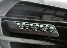 Harley-Davidso​n Skull Saddlebag Latch Inserts hinge Covers touring Ivory