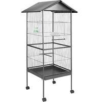 Volière cage à oiseaux canaries perruches perroquets metal