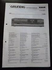 Original Service Manual  Grundig Verstärker V 8400
