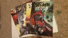 Spawn 129-131, 134, 135 Lot of 5. Capullo Mcfarlane Image Comics Low print