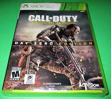 Call of Duty Advanced Warfare Day Zero Edition Microsoft Xbox 360  *New-Sealed!