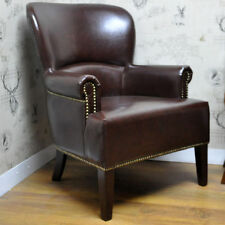 Unbranded Leather Dining Room Antique Style Furniture