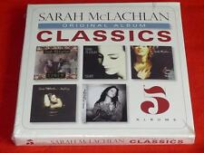Original Album Classics: 5 Albums by Sarah McLachlan (CD, Jun-2013, 5 Discs) Box