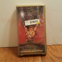 Army Of Darkness Limited Edition Numbered Director's Cut Widescreen VHS NEW