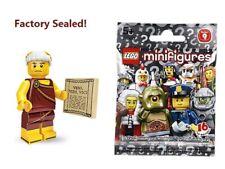 New Factory Sealed LEGO Series 9 - Roman Emperor minifigure - 71000