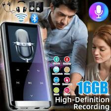 MP3 Player Bluetooth4.2 8-64G,FM Radio HiFi MP4 Musikspieler mit Batterie OTG