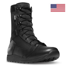 """Danner Tachyon 8"""" GORE-TEX Black WP Leather Military Tactical Duty Boots 50122"""