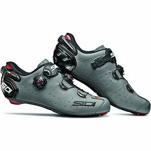 Sidi Wire 2 Carbon Bicycle Cycle Bike Road Shoes Matt Grey / Black
