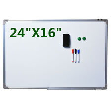 NEW Single Side Magnetic Writing White Board 24