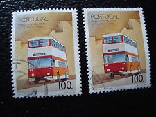PORTUGAL - timbre yvert et tellier n° 1768 x2 obl (A28) stamp (Q)