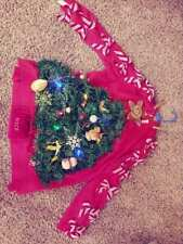 Lot of TWO - Light-Up Ugly Christmas Sweater Size L & 3XL, CONTEST WINNING!