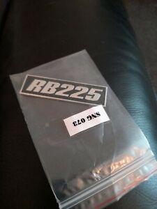 Lambretta RB225 Legshield badge.