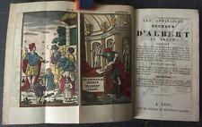 Grimoire Blocquel 1850 Albert le Grand Admirables Secret. Pl. coloriées T Bel ex