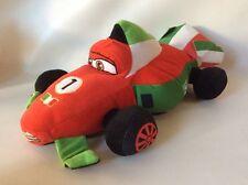 "Disney Pixar Cars 2 Franchesco Ferrari Plush Toy Large 19"""