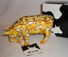COW PARADE - PEACH COWBLER -  COW FIGURINE - #7332 MINT IN BOX