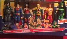 Mattel 2017 DC Justice League Action 12 Inch Figure Set Of 6. Batman Superman