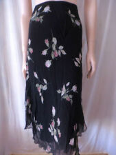 Jacqui E Viscose Hand-wash Only Floral Skirts for Women