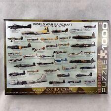 Eurographics World War 2 Aircraft 1000 Piece Puzzle II WW2 Brand New Sealed