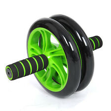 NEW SPEED ABS COMPLETE AB WORKOUT SYSTEM GYM ABDOMINAL ROLLER DUAL WHEEL
