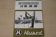 163333) Huard Untergrundlockerer SO 190 290 390 Prospekt 198?