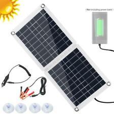 30W Watt Solar Panel Kit 12V Off Grid Battery Flexible Charge For RV Camping