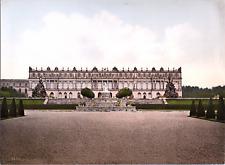 Deutschland, Chiemsee. Schloss Herrenchiemsee. vintage print photochromie, vin