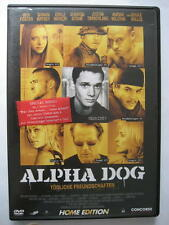 ALPHA DOG TÖDLICHE FREUNDSCHAFTEN - DVD - JUSTIN TIMBERLAKE BRUCE WILLIS