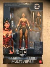 DC Multiverse Wave 9 Rebirth Wonder Woman Figue- Click & Connect LEX LUTHOR (BAF