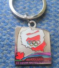 NOC POLAND OLYMPIC VANCOUVER 2010 PENDANT KEYCHAIN