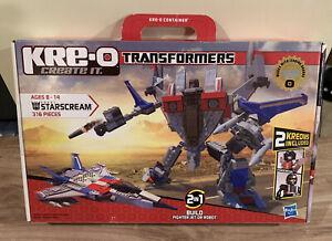 Hasbro - Kre-O - Transformers - Starscream - Construction Set - 2010 - UNOPENED