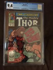 Mighty Thor #411  CGC 9.4 White Pages 1st New Warriors