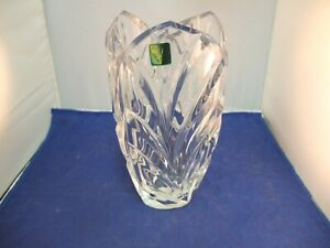 "KS Marquis by Waterford Crystal Palma 9"" Vase Made in Germany"