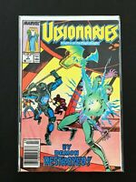 VISIONARIES #3 MARVEL/STAR COMICS 1988 VF+ NEWSSTAND EDITION RARE!