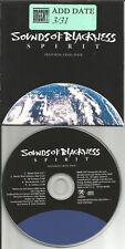 SOUNDS OF BLACKNESS w/ CRAIG MACK Spirit 5TRX INSTRUMENTAL & ACAPELLA PROMO CD