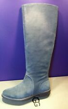 UGG DALEY GRACEN GREY SUEDE TALL RIDING  BOOTS WOMENS US 6